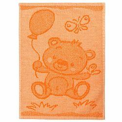 Profod Detský uterák Bear orange, 30 x 50 cm