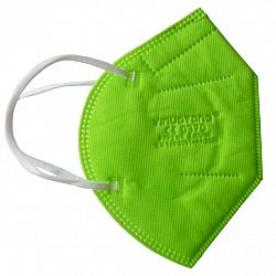 Respirátor FFP2 zelená