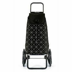 Rolser Nákupná taška na kolieskach I-Max Star Rd6, čierno-biela