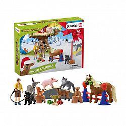 Schleich 98063 Adventný kalendár 2020 - Domáce zvieratá