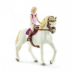 Schleich Blondína Sofia a kôň Blosom