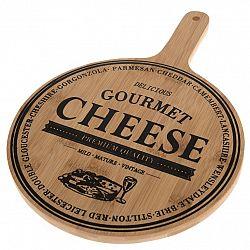 Servírovacia bambusová doštička Cheese, 35 x 24,5 x 1,5 cm