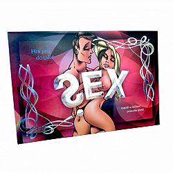 Sex společenská hra pro dospělé v krabici 33x23x3cm