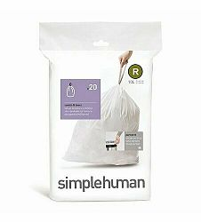 Simplehuman Príslušenstvo - Vrecia do odpadkového koša 10 l, typ R, 20 ks CW0201