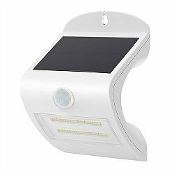 Solight WL907 Solárne LED svetlo so senzorom, biela