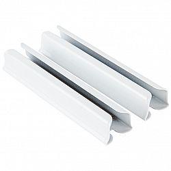 SP Trend Kovová spojka koľajničiek Deluxe biela, 5 cm, sada 2 ks
