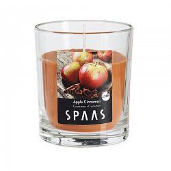 SPAAS Vonná sviečka v skle Apple Cinnamon, 7 cm