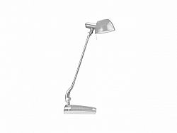 Stolná lampa Ginevra uno, sivá, Panlux