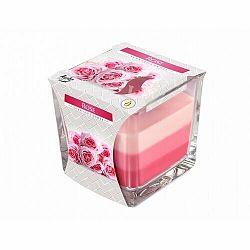 Svíčka v skle Dúha Ruža, 170 g