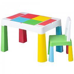Tega Multifun detská sada stolček a stolička - multicolor