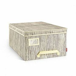 Tescoma krabica na odevy FANCY HOME, 40 x 52 x 25 cm, smotanová