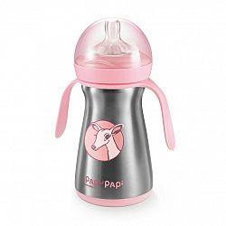 Tescoma Termo fľaša PAPU PAPI 200 ml, ružová