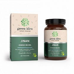 Topvet Ginkgo biloba Ginkgo dvojlaločný bylinný extrakt 60 kapsúl