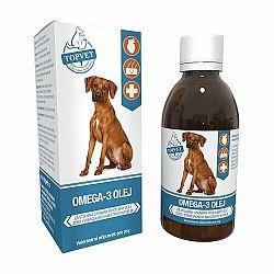 Topvet Omega 3 olej pre psov 200 ml