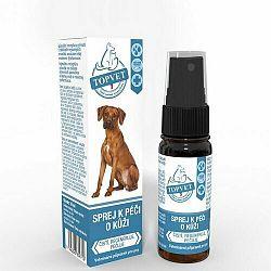 Topvet Sprej na starostlivosť o kožu psov 10 ml