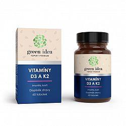Topvet Vitamíny D3 a K2 60 ks