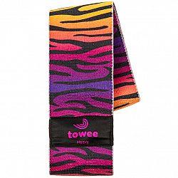 Towee Textilná odporová guma Zebra Booty band, silná odpor