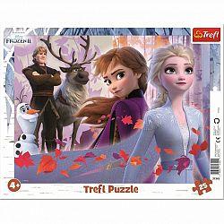 Trefl Puzzle Ľadové kráľovstvo Dobrodružstvo, 25 dielikov