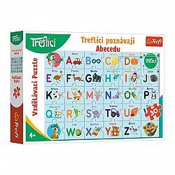 TREFL Puzzle Treflíci poznávají abecedu 30 dílků