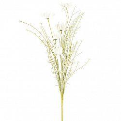 Umelé lúčne kvetiny 50 cm, biela