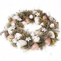 Veľkonočný veniec s vajíčkami Pavia, 31 cm
