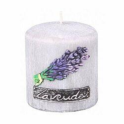 Vonná sviečka Lawenda Provance valec, 8 x 9 cm