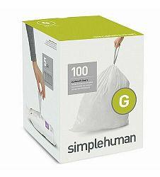 Vrecia do odpadkového koša 30 L, Simplehuman typ G zaťahovacie, 5 x 20 ks (100 vriec )