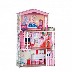 Woody Domček pre bábiky veľkosť BARBIE s príslušenstvom