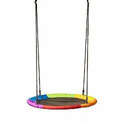 Woody Hojdací kruh pr. 100 cm, dúhová