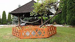 Záhradný plôtik 2,3 m terakota