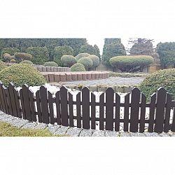 Záhradný plôtik Home hnedá, 2,3 m