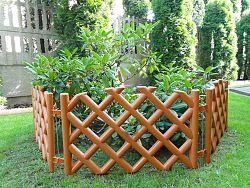 Záhradný plôtik mriežka terakota