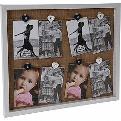 Závesný fotorámček Memories, 51 x 43 x 3 cm